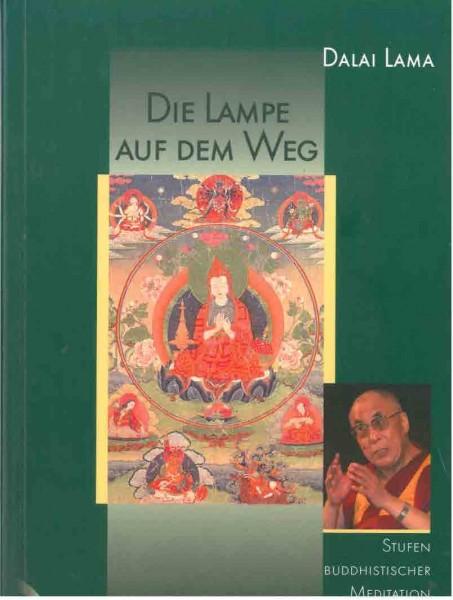 Die Lampe auf dem Weg von Dalai Lama