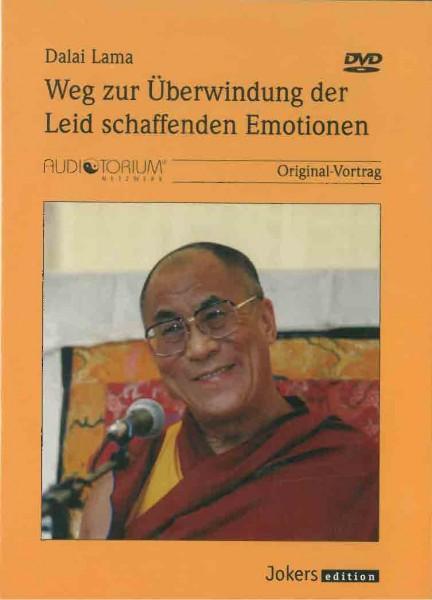 Weg zur Überwindung der Leid schaffenden Emotionen von Dalai Lama - GEBRAUCHT, 6 DVDs