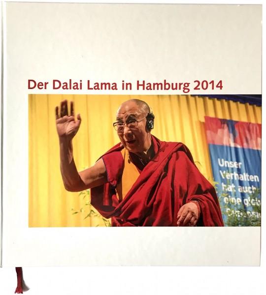 Bildband - Der Dalai Lama in Hamburg 2014
