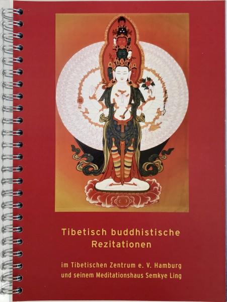 Tibetisch buddhistische Rezitation - Gebetsbuch